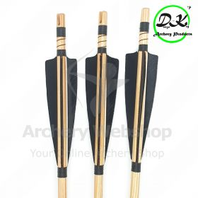 Dongs-Key Natural wooden Arrow complete