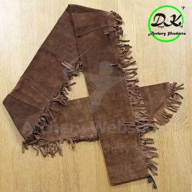 Dongs-Key Suede Longbow Case 70 x 5 Inch Brown