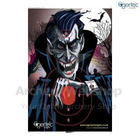 Egertec Halloween Target Face Dracula