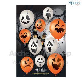 Egertec Halloween Target Face Halloweenballoons