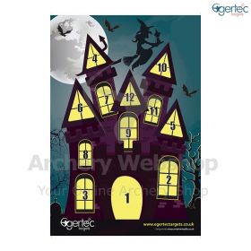 Egertec Halloween Target Face Haunted House