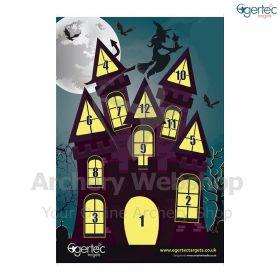 Egertec Halloween Target Face Haunted House