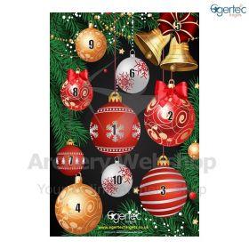 Egertec Christmas Target Face Balbauls