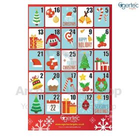Egertec Christmas Target Face Advent Calender