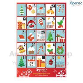 Egertec Christmas Target Face Advent Calender