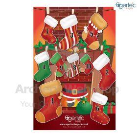Egertec Christmas Target Face Stockings