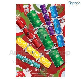 Egertec Christmas Target Face Christmas Labels