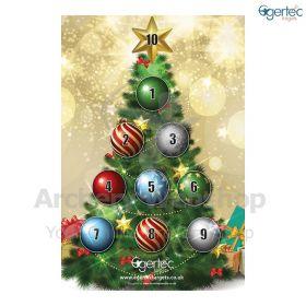 Egertec Christmas Target Face Christmas Tree