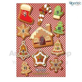 Egertec Christmas Target Face Ginger Bread