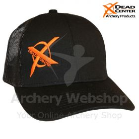 Dead Center X Logo Hat Black/Black Mesh