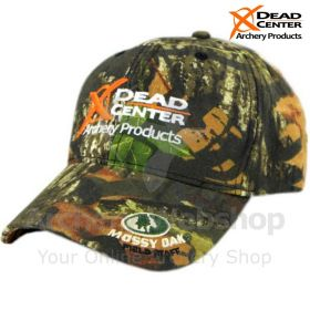 Dead Center Logo Hat Mossy Oak Break Up
