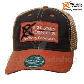 Dead Center Legacy OFA Trucker Hat Black Orange