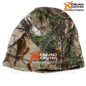 Dead Center Logo Fleece Cap Camo