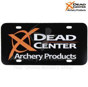 Dead Center Logo License Plate