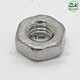 Dongs-Key Screw Nut 3 mm