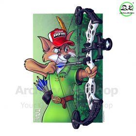 Dongs-Key Archery Poster A2 Robin Hood 2.0