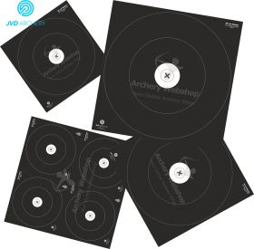 JVD Products IFAA Set Target Faces Hunter