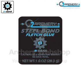 Q2i Archery Steel Bond Fletch Glue 1.0 Oz