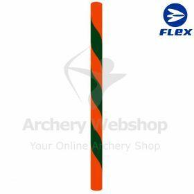 "Flex Bowstring Long Bow Flemisch ""Apple Forest"" red & Dark Green"