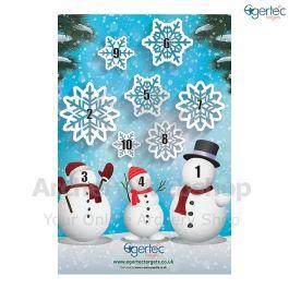 Instinctive Archery Snowman Winter Targets
