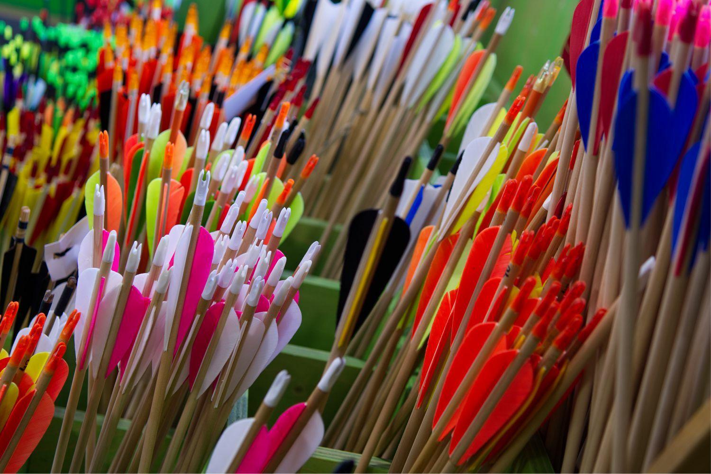 more than 2500 arrows