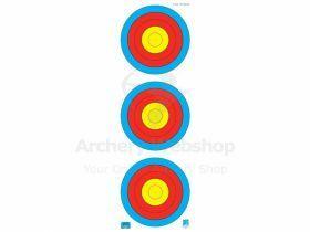 JVD Target Face Fita 3x20 cm Vertical Recurve